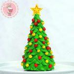 Como hacer un árbol de Navidad con fondant