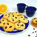 Galletas de pasas y naranja