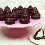 Besitos de chocolate con Oreos