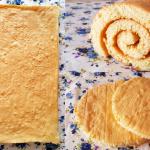 Plancha de bizcocho para Brazo de gitano y base de tartas