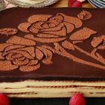 Tarta de la abuela con crema pastelera