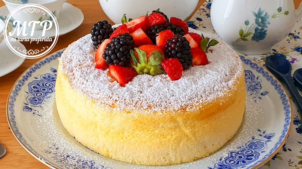 Cheesecake japonés con 3 ingredientes